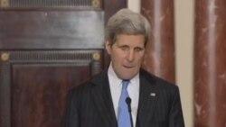 ملاقات وزیر امور خارجه آمریکا و رئیس ائتلاف ملی سوریه