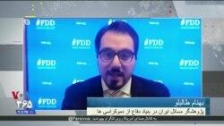 بهنام طالبلو: تهدیدها از سوی جمهوری اسلامی در همه زمینه ها افزایش داشته است