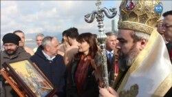 Izmir'de Denizden Haç Çıkarma Töreni
