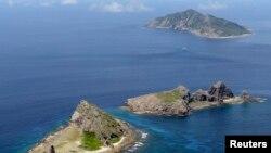 Kelompok kepulauan di Laut China Timur yang dipersengketakan China dan Jepang. (Foto: dok)