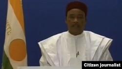 NIGER: SHUGABA MUHAMMADOU ISSOUFOU