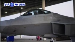 VOA60 America-The U.S. has sent nearly a dozen Air Force F-22 stealth fighters to the Persian Gulf state of Qatar amid tensions with Iran