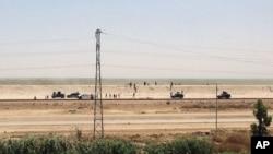 Iračke bezbednosne snage povlače se iz Ramadija, oko 115 kilometara zapadno od Bagdada