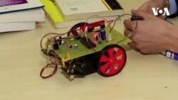 شناسایی ماین به کمک روبات