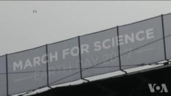 全球600多城市举行科学大游行