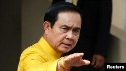 Perdana Menteri Thailand, Prayuth Chan-ocha (foto: dok).