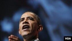 Presiden AS Barack Obama menandatangani UU yang akan mendanai operasi pemerintah Federal hingga 18 November (foto:dok).