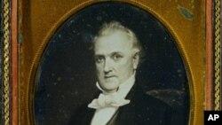 Dagerotipija Džejmsa Bjukenena, 15. predsednika SAD.