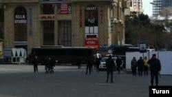 """""""28 May stansiyasının"""" qarşısındakı ərazi"""