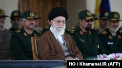 အီရန္ဘာသာေရးေခါင္းေဆာင္ Ayatollah Ali Khamenei