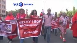 VOA60 AFIRKA: NIGERIA Masu Fafutukar Ganin An Dawo Da 'Yan Matan Chibok Sun Yi Gangami A Abuja