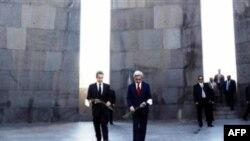 Հայաստանի նախագահ Սարգսյանը նամակ է հղել Ֆրանսիայի նախագահ Սարկոզիին