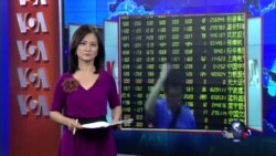 VOA连线:政府推救市,中国股市仍以下跌收盘