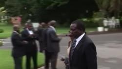 Former Zimbabwe VP Sworn in as President