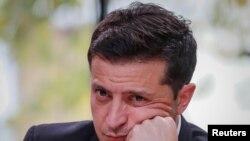 Perezida wa Ukraine Volodymyr Zelenskiy