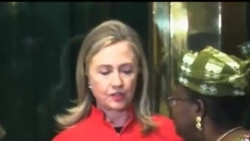 2012-08-10 美國之音視頻新聞: 希拉里克林頓訪問加納