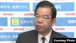 日本共产党委员长志位和夫(志位和夫推特截图)