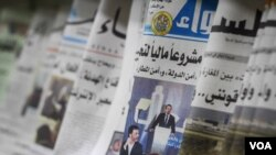 Troubles have been reported at a number of Lebanon's newspapers, with many staff owed wages amid a funding crisis. (John Owens for VOA)