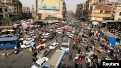 A general view of a street in downtown Cairo, Egypt, March 9, 2017. Cairo's population is set to grow by 500,000 this year, more than any other city in the world.