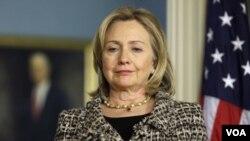 Representantes de la sociedad civil participaron de la conferencia de la secretaria Hillary Clinton.