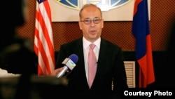 美國國務院負責東亞事務的助理國務卿拉塞爾。(美國國務院圖片)