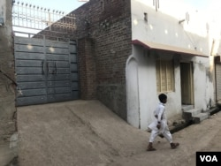 ظہیر کا پاکستان میں آبائی گھر۔