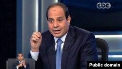 Presiden Mesir Abdel Fattah el-Sisi.