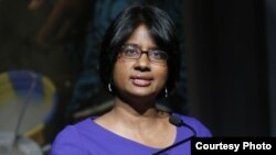 Radha Muthiah, executive director of the Global Alliance for Clean Cookstoves. (Stuart Ramson for U.N. Foundation)