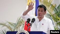 ဖိလစ္ပိုင္သမၼတ Rodrigo Duterte