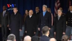 رئیس جمهوری افغانستان از نیروهای آمریکایی تشکر کرد