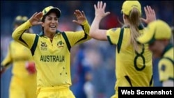آسٹریلیا کی ٹی ٹونٹی کرکٹ وومن ٹیم۔ جیت کی خوشی
