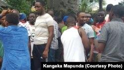 Une manifestation en Tanzanie, 15 février 2017.