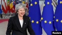 Bà May đến Brussels để gặp các nhà lãnh đạo EU
