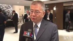杨念祖谈台湾如何帮助解决朝鲜问题视频 (美国之音黎堡摄)