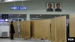 북한 평양 공항 모습 (자료 사진)