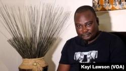 Tata Yawo Amétoènyénou à Lomé, 7 octobre 2020. (VOA/Kayi Lawson)