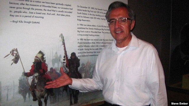 """Emil Her Many Horses is curator of """"A Song for the Horse Nation"""" exhibit at the National Museum of the American Indian"""