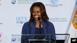 Đệ nhất Phu nhân Hoa Kỳ Michelle Obama.