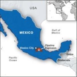 Mexico Pipeline Explosion Kills 28