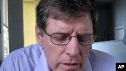 David Brooks, encarregado de negócios da Embaixada dos EUA em Luanda