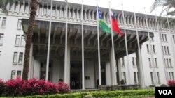 台湾外交部大楼 (资料照片)