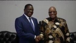 Mnangagwa, Zuma Meet in South Africa