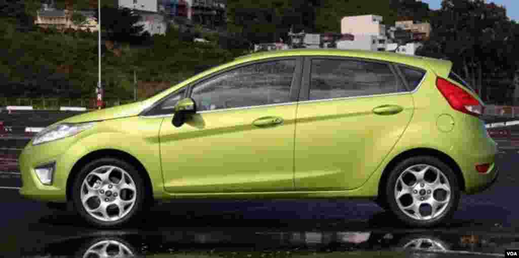 #4 Ford Fiesta