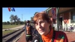 Bersepeda Menyusuri Trayek Kereta Api di Missouri