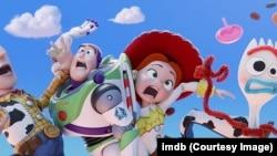 Cuplikan film Toy Story 4. (2019)
