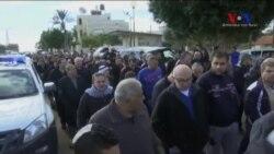 İstanbul'daki Saldırıda Ölen Arap Asıllı Nasser'in İsrail'deki Cenaze Törenine Binlerce Kişi Katıldı