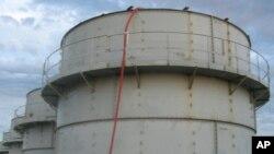 9일 일본 후쿠시마 원전에서 고농도 오염수가 또 유출돼 작업자들이 피폭됐다. 사진은 지난 3일 오염수가 유출된 저장탱크.