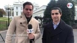 Venezolano exiliado en EE.UU. participa en acto de la Casa Blanca