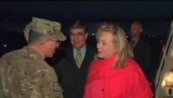 克林顿:塔利班要么和谈要么继续被攻