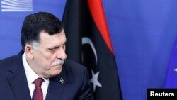 Le Premier ministre du gouvernement d'union nationale libyen (GNA), Fayez al-Sarraj, 2 février 2017.